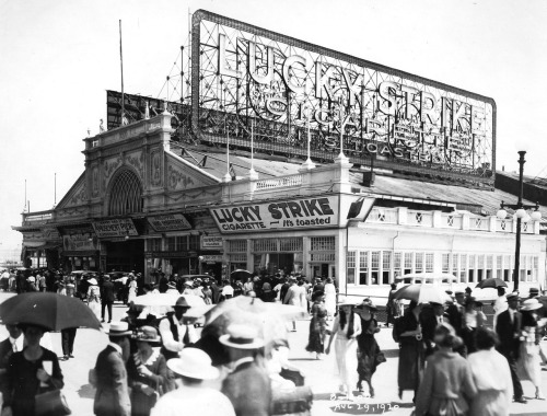The Boardwalk. Atlantic City, New Jersey. 1920's.