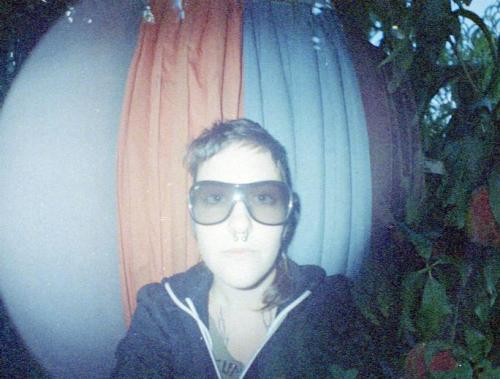 yeah, I took a photo of myself in a photobooth with my own camera