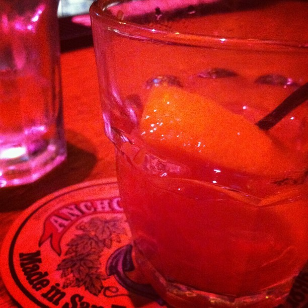 The night quickly turned this mother out to old fashioneds! (Taken with Instagram)