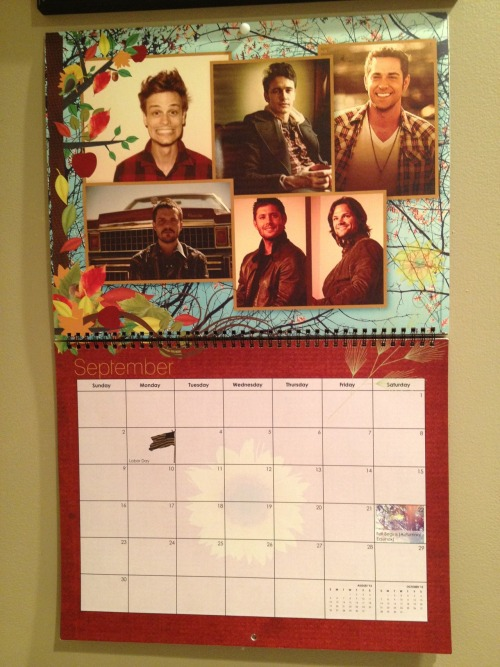 ladies & gentleman… the month of September :)  (thank you to the very best twin sister ( http://thatisveryg.tumblr.com/ ))