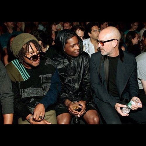 liveloveasap:  Lupe x Flacko x Michael Stipe (Taken with Instagram)