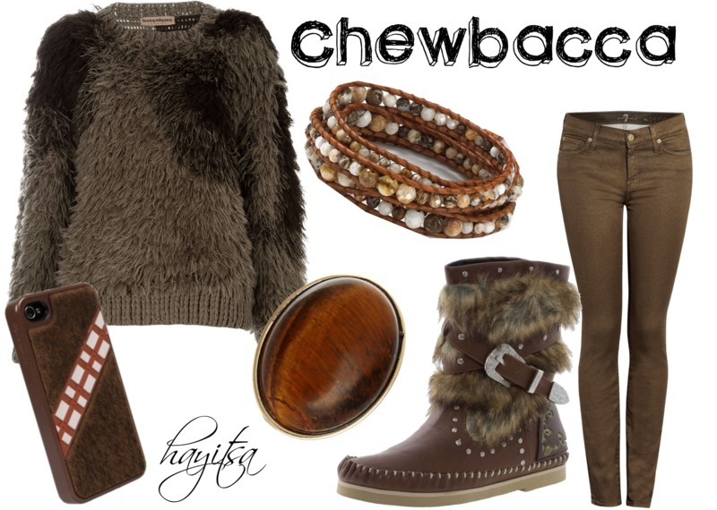 hayitsa:  May The Force Be With You!: 7.) Chewbacca  Someone please wear this outfit to CVII. I beg you.