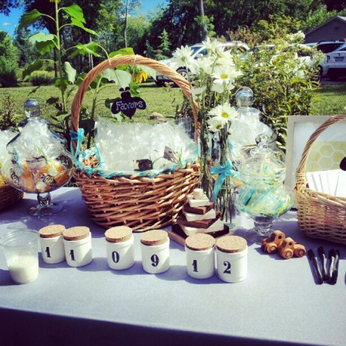 #favors #table @tobin10910 #babyshower #NY #Rockland  (Taken with Instagram)