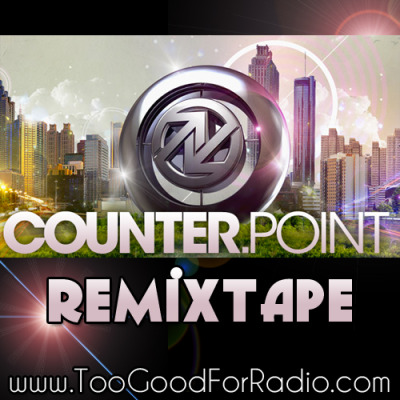 Download 25 Song CounterPoint 2012 ReMixtape Adventure Club – Do I See Color (Big Gigantic Remix) Alesso – Love Control (3LAU Edit) Avicii – Levels (Skrillex Remix) Bassnectar – Vava Voom ft Lupe Fiasco (Bassnectar's Own Remix) Beats Antique – Revival (MartyParty Remix) Big Boi – Shutterbugg (Mochipet Remix) Com Truise – Iwywaw (TEEEL REMIX) Crystal Castles – Celestica (Bear In Heaven Remix) Excision & Downlink – Crowd Control (Dual Shock Remix) Laidback Luke & Sander van Doorn – Who's Wearing The Cap (A-Trak Remix) M83 – Steve McQueen (Bird Peterson Remix) Mr Mfn Exquire – Galactus (Emynd Remix) Porter Robinson – The Wildcat (Hollidayrain Remix) Pretty Lights – THROW SOME D'S (STYLUST MASHUP) R3hab vs Calvin Harris – Chainsaw Flashback (Panic City & Miles Medina Remix) RUN DMT – Sugarcube (Bassnectar Remix) Skrillex – Make It Bun Dem (Caveat Remix) Steve Angello vs. Basement Jaxx – Where's Your Rave At? (DallasK & Henry Fong Bootleg) Theophilus London – Why Even Try (RAC Remix) Toro Y Moi – New Beat (Star Slinger Remix) Treasure Fingers – Lift Me (Gabriell Remix) Wale – Bait (CR^NKN Remix) Washed Out – Eyes Be Closed (Grimes Remix) Zedd feat. Matthew Koma – Spectrum (3LAU Remix) Zeds Dead & Omar LinX – No Prayers (KEYS N KRATES RMX)