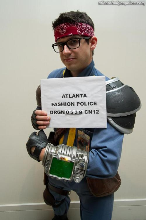 My first year costuming at Dragon*Con and I got snapped by the Atlanta Fashion Police!  I'm honored! Check out his Facebook, I see a lot of familiar faces!