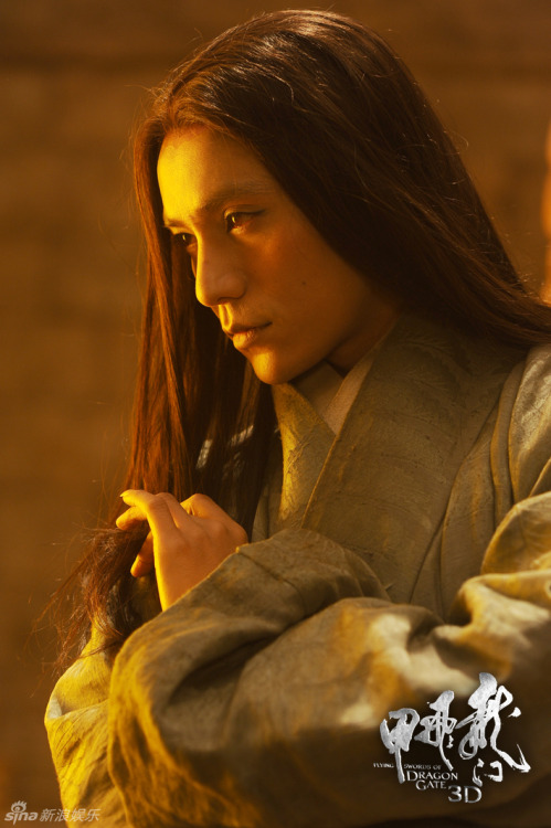 theyaoireview:  Kun Chen… long hair… Flying Swords of Dragon Gate… 'nuff said.
