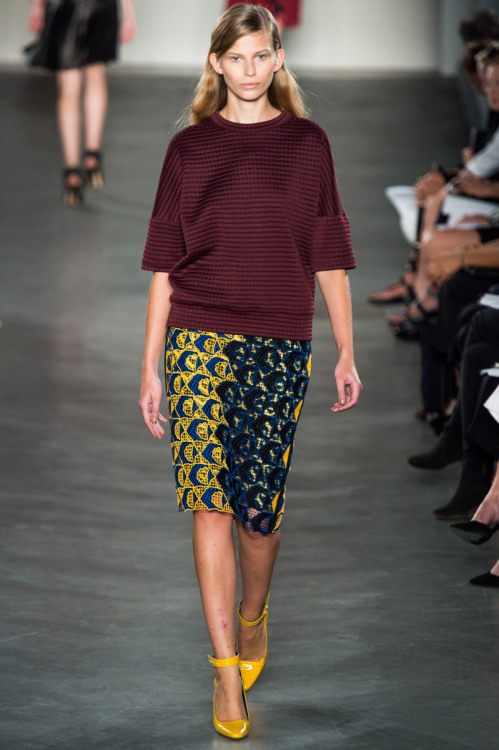 vogue:  Derek Lam Spring 2013 Photo: Alessandro Viero/GoRunway.com Go to Vogue.com for the full collection and review.