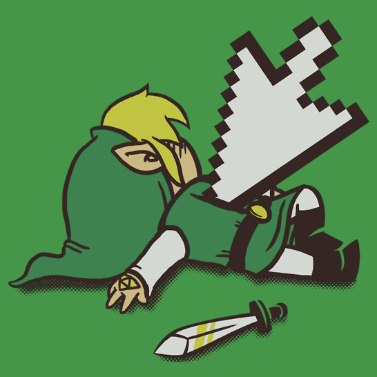 insanelygaming:  Dead Link  Created by Italiux Available on RedBubble