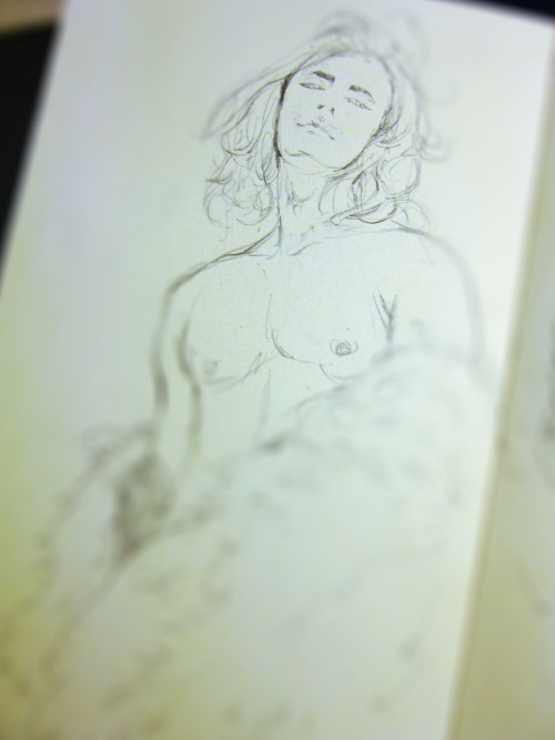 the sketch from moleskine