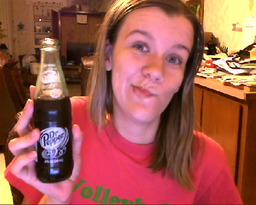 This is exactly what's up, the only way to drink a dr.pepper made with pure cane sugar is in a glass bottle bitches! Ahhh, brings back good memories as a child touring the Dr.pepper plant in Dublin, TX.