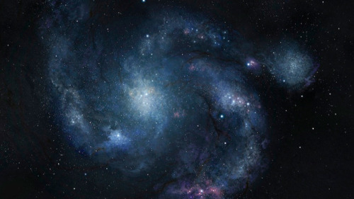 "thetruthisviral:  Hubble has spotted an ancient galaxy that shouldn't exist  This galaxy is so large, so fully-formed, astronomers say it shouldn't exist at all. It's called a ""grand-design"" spiral galaxy, and unlike most galaxies of its kind, this one is old. Like, really, really old. According to a new study conducted by researchers using NASA's Hubble Telescope, it dates back roughly 10.7-billion years — and that makes it the most ancient spiral galaxy we've ever discovered. ""The vast majority of old galaxies look like train wrecks,"" said UCLA astrophysicist Alice Shapley in a press release. ""Our first thought was, why is this one so different, and so beautiful?""  Read more: here"
