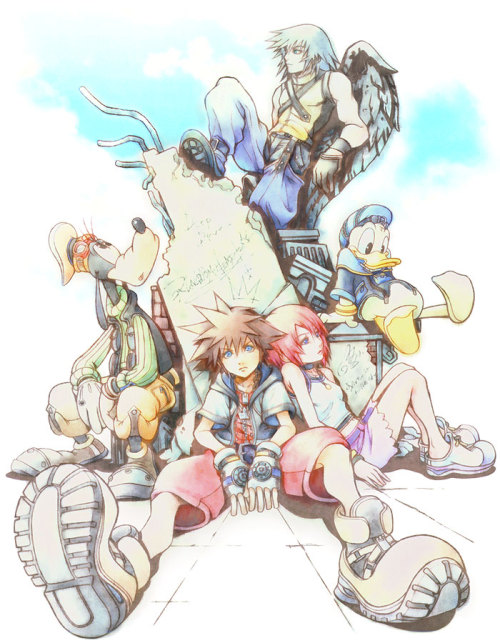 saveroomminibar:  Kingdom Hearts. Key Art.