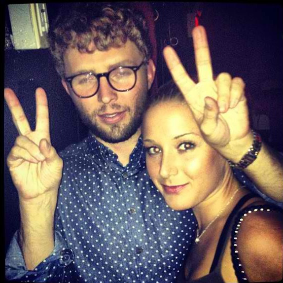 GPOY + @timoweiland at Westway celebrating his super rad SS13 collection. #mbfw