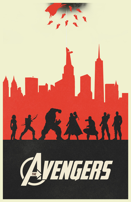 The Avengers variant poster by William Henry I've always wanted to do variant prints of some of my posters. I decided to start with my Avengers design. I simplified the design a bit by reducing the texture and changed the colors to a color scheme I've always wanted to use. Prints are available on Etsy at https://www.etsy.com/listing/109070277/the-avengers-variant-poster. You can also still pick up the original at http://www.etsy.com/listing/101841955/the-avengers-movie-poster. View my portfolio at http://www.williamhenrydesign.com. Please get in touch. I would love to work together on a project. You can also follow me on Twitter at http://www.twitter.com/billpyle and on Facebook at http://www.facebook.com/williamhenrydesign.