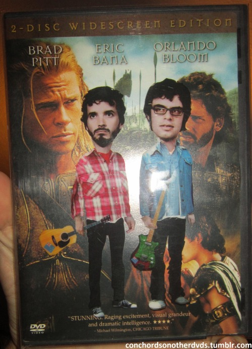 Troy (2004, dir. Wolfgang Petersen)The Conchords are clearly the best looking guys on this cover.