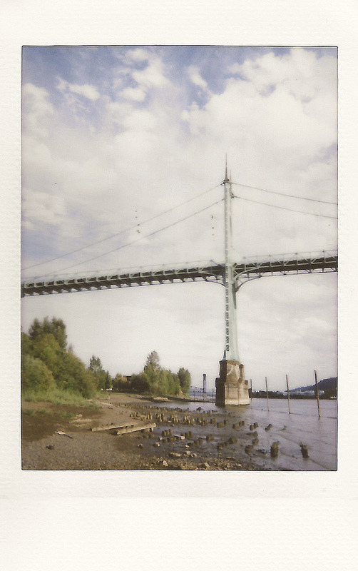 St. John's Bridge (Portland, Or — Instax)