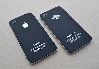 Forget the rumors surrounding Apple's iPhone 5, a Chinese company by the name of GooPhone has created an iPhone 5 clone they are calling the Goophone I5. According to a report by CNET, GooPhone may have taken out a patent on the design of a new smartphone they created. The Company is even going as far as to try and sue Apple over a patent issue involving the company's upcoming smartphone. Is this what the future holds? The bee logo is kinda cool, but we hold true to our guns. Apple.