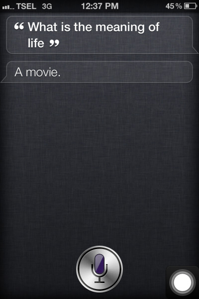 Even Siri knows!