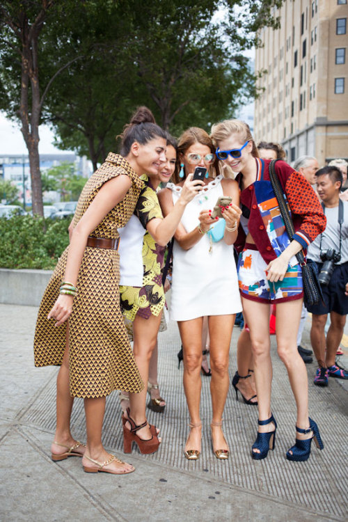 ADR, Miroslava, Elena and Giovanna. Style explosion. [source: xssat]