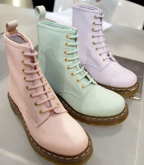 a-c-n-e:  dr. martens!  I want them all!