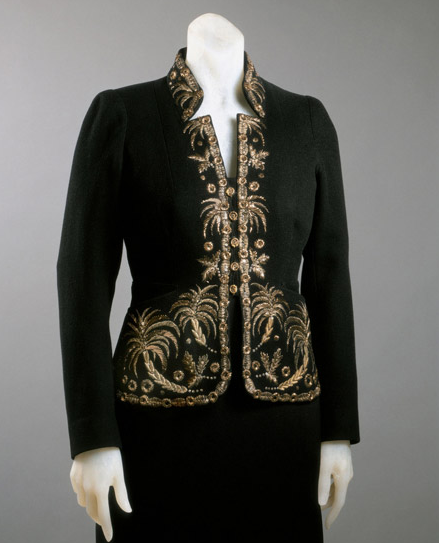 omgthatdress:  Jacket Elsa Schiaparelli, 1936-1937 The Philadelphia Museum of Art