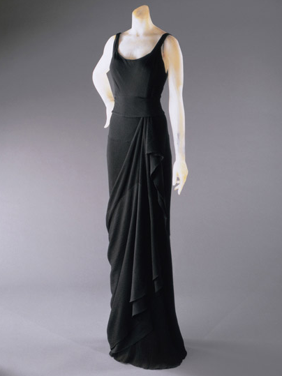 omgthatdress:  Evening Dress Elsa Schiaparelli, 1931-1932 The Philadelphia Museum of Art  Dear Harriet Walter & Kristin Scott Thomas, please wear this. Because ohgod, so beautiful.