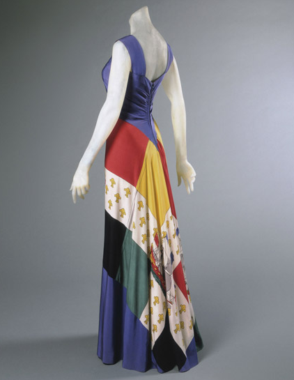 omgthatdress:  Dress Elsa Schiaparelli, 1940 The Philadelphia Museum of Art