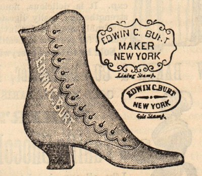 Vintage Boot Maker Advertising