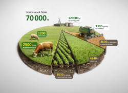 Photo-realistic agro diagram by Anton Egorov