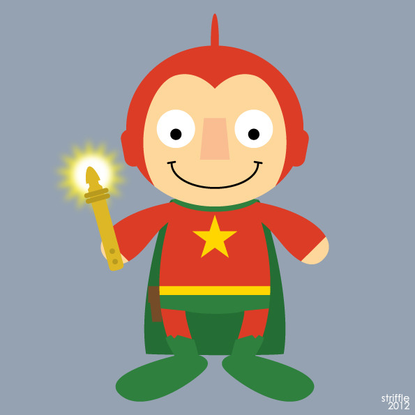 Almost Daily Characters: Starman (Ted Knight)