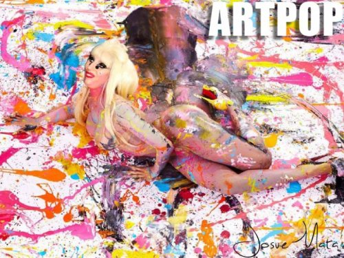 ramenfashion:  [leaked] (Official) ARTPOP album cover
