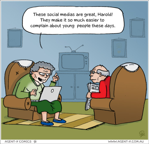 justbeingseriouslysocial:  LOL, why these social medias are great for elderly adults?!