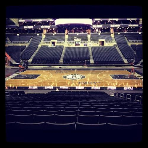 Can the season start now? - The Barclays Center preps for its grand opening.