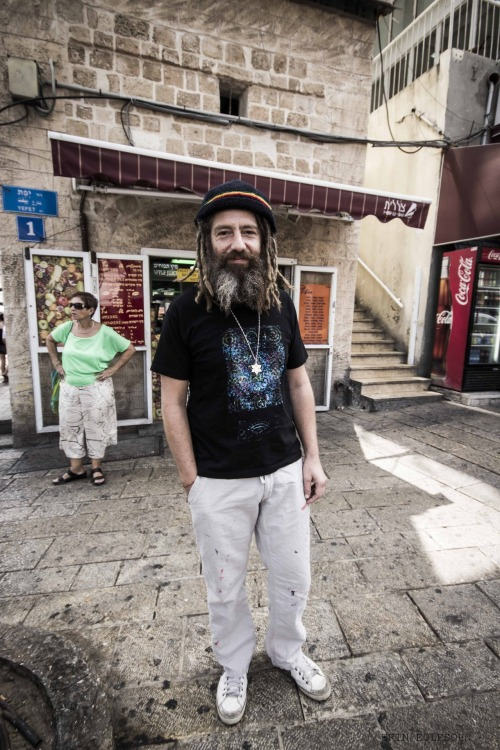My favorite face from the streets of Tel Aviv. September.2012.