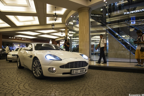 automotivated:  Vanquish (by Eccentric M)  DUBAI PLATE! @Moe
