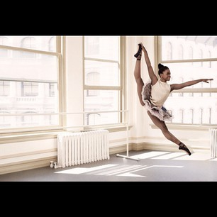 * Black magic *  Michaela DePrince in a row