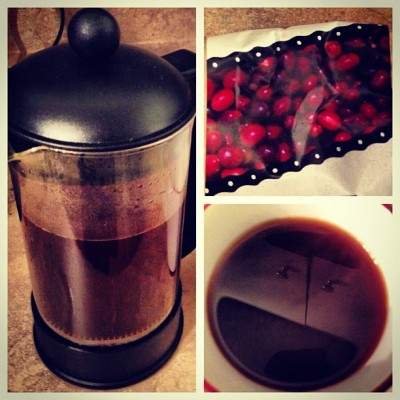 #MorningCup #LaderaNorte French Press cc: @rossspruiell ~ What's yours? Tag it #MorningCup #GrimpeurBros this week & our fave @instagram pic will get a bag of @GrimpeurBros sent to them - #mondays #coffee #cycling  (Taken with Instagram)