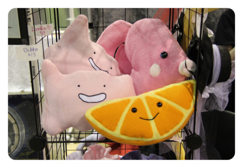Super cute Pokemon plushies.