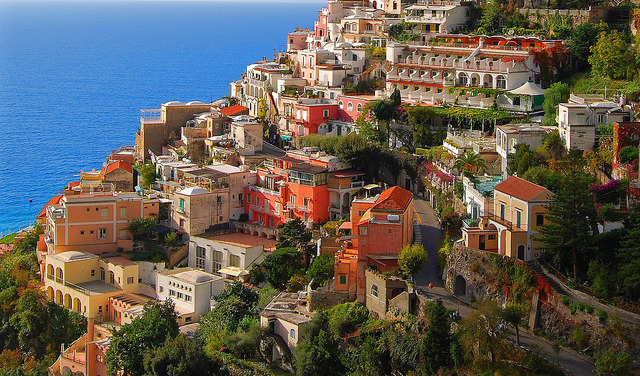 Colourful Positano by Atilla2008 on Flickr.