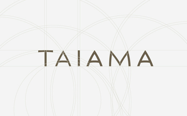 ashleyhkeller:  The making of Taiama's brand identity by Roger Oddone
