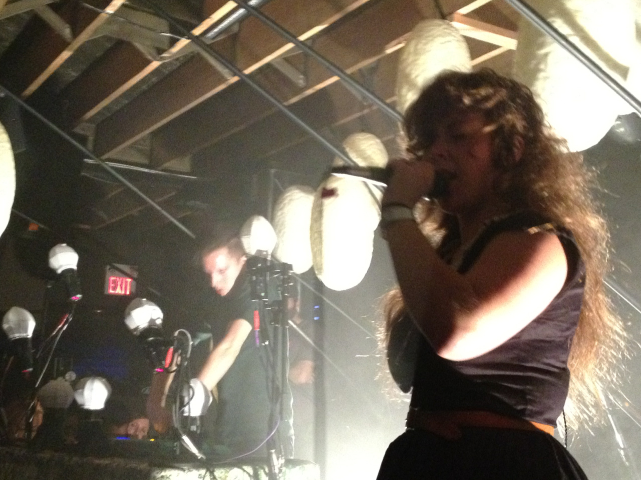 I can't even described to you how amazing Purity Ring was last night, it was a spectacular performance on all levels.