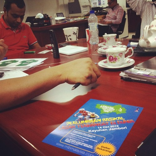 #meeting with Datuk Malek for #LIMBC#ohmedia #ohmediatv (Taken with Instagram)