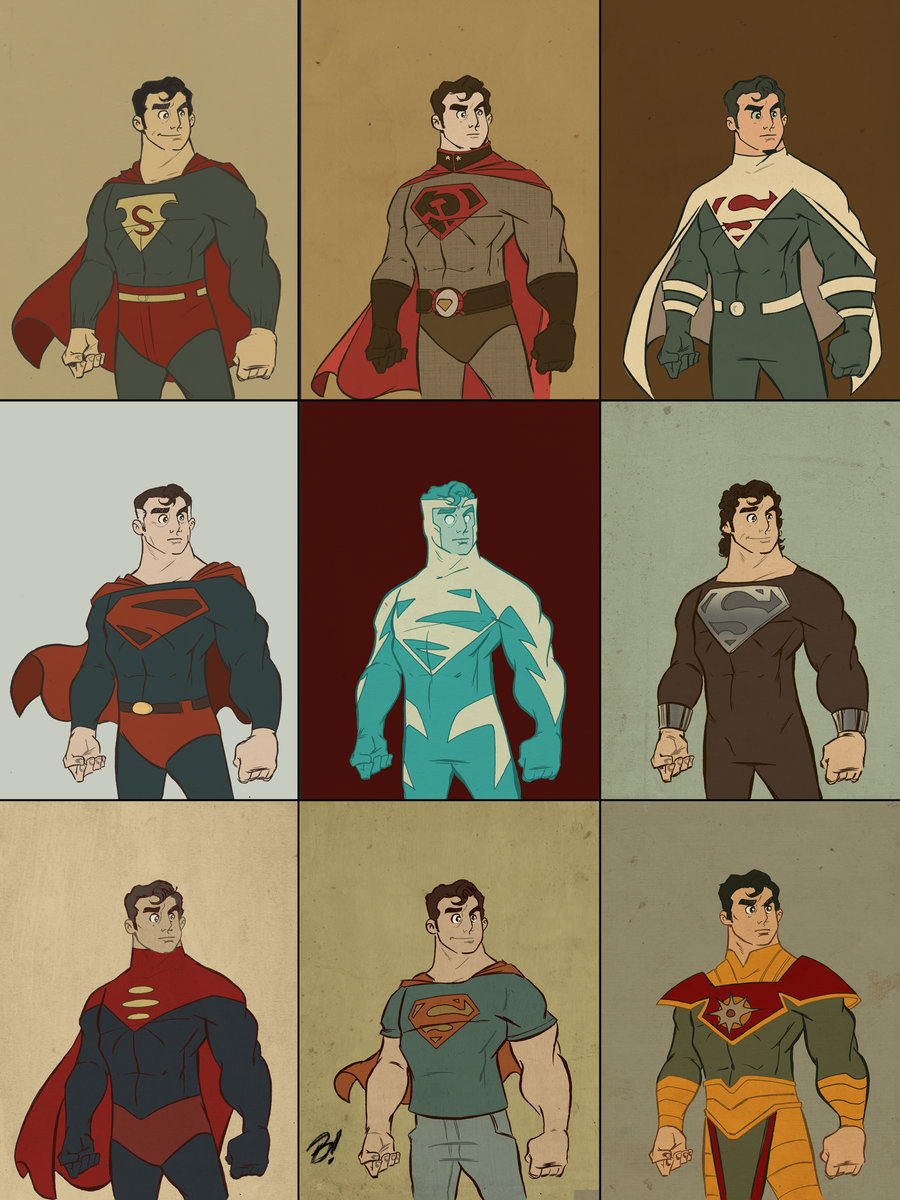 radiationdude:  Superman: Man of Fashion by ~suburbancomics