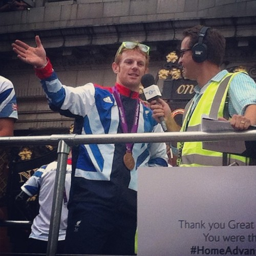 #olympicparade #london2012  (Taken with Instagram)