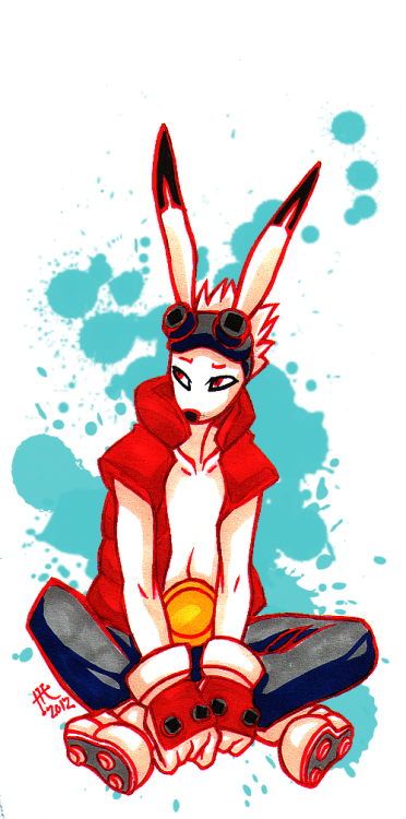 A quick warm-up doodle I did yesterday. King Kazma from Summer Wars.