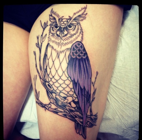 My new tattoo on it's way to completion. Photo Cred: Graham Thorne <3Zacky