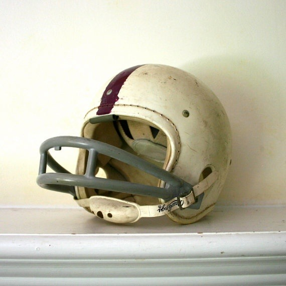 Just in time for football season, we're loving this vintage helmet! What a great find. WebThriftStore