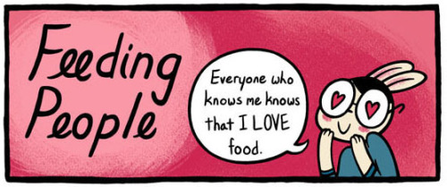 I've got a guest comic up at Sauceome, a really cool food comic that you should be reading if you aren't already! My comic is also a preview from the mini that I'll be handing out at SPX this weekend!