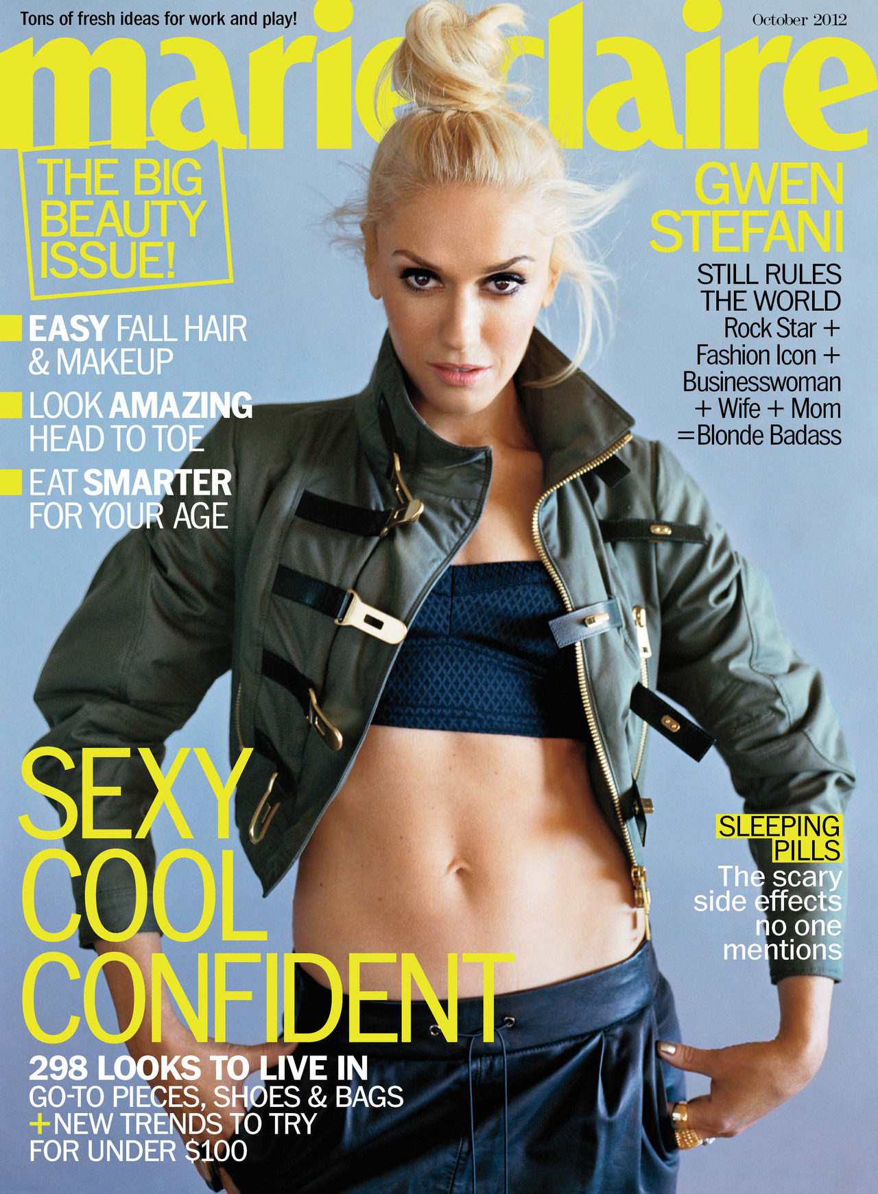 Please say hello to our new covergirl: Gwen Stefani!