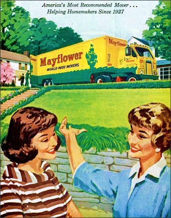 Mayflower, 1950s